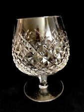 """Crystal Cognac Glass Unsigned 5"""""""