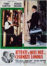 PERSUADERS LONDON CONSPIRACY Italian 1F movie poster ROGER MOORE TONY CURTIS