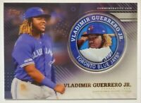 VLADIMIR GUERRERO JR. 2020 TOPPS SERIES 2 COMMEMORATIVE MEDALLION #TPM-VG