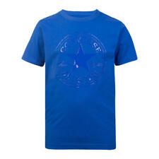 Designer CONVERSE Boys Summer Cotton T-Shirt Blue NEW SEASON'S COLLECTION