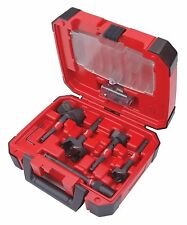 NEW MILWAUKEE 49-22-5100 5PC PLUMBERS SWITCHBLADE SELF FEED DRILL BIT SET & CASE