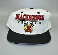 Chicago Blackhawks NHL Vintage 90's Logo 7 Adjustable Snapback Cap Hat