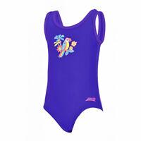 "Zoggs Celebrate Bella Crossback Girls Swimsuit Age 14 UK 34/"" UPF 50+"