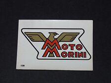 #138 MOTO MORINI ITALIA ITALIE MOTO 2000 PANINI EDITIONS DE LA TOUR 1973