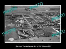 Old Large Historic Military Photo Aerial View Of Raf Goxhill Lincolnshire C1940 In Many Styles Militaria Aviation