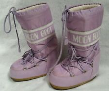 Tecnica Moon Boot Women US 35/38 Lavender Purple Winter Snow Boot Size 5 Womens