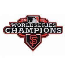 San Francisco Giants 2012 World Series Champions Jersey Sleeve Patch (Orange)