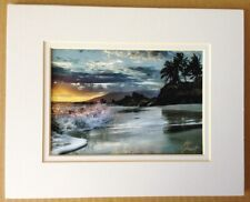 """""""Splashes of Light"""" Monica & Michael Sweet Hand Signed Ocean Color Photograph"""