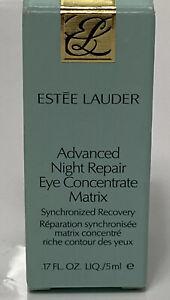 Estee Lauder Advanced Night Repair Eye Concentrate Matrix 0.17oz/5ml New in Box