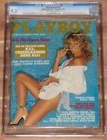 DECEMBER 1978 PLAYBOY MAGAZINE FARRAH FAWCETT CGC 9.2, POP 2, HIGHEST