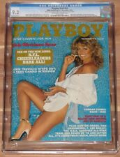 DECEMBER 1978 PLAYBOY MAGAZINE FARRAH FAWCETT CGC 9.2, POP 2, HIGHEST