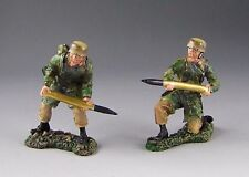 60mm collectors showcase ww2 German NA Loaders 2 figs set