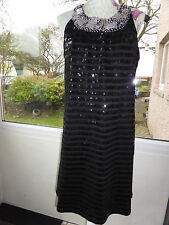 QED LONDON SEQUIN DRESS SIZE 16