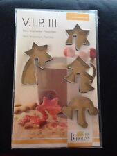 Birkmann V.I.P Cookie/Biscuit Cutters For Adorning Coffee Cups/Mugs