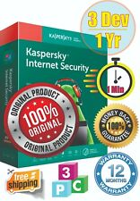 AntiVirus Kaspersky Internet Security 3PC/1Y - 2020 - Fast Delivery - Global -