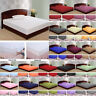 1000 Count 100 Percent Egyptian Cotton Solid Sheet Set All Colors/Sizes