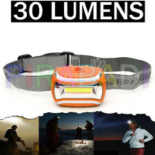 LAMPE TORCHE FRONTALE 30 LUMENS 5W LED BRICOLAGE CAMPING PECHE CYCLISTE ETC...