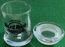 "Hard Rock Hotel TAMPA FL Candy Jar with Suction Seal Glass Top 4.25"" Tall"