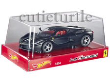 Hot wheels Ferrari LaFerrari 2014 New Enzo 1:24 Diecast Model Car Black BLY62