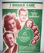 I SHOULD CARE,'43 movie THRILL OF A ROMANCE,Van Johnson,Esther Williams,Sheet Mu