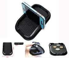 Coche Dashboard Anti Slip Grip soporte para teléfono Antideslizante Pad Mat GPS sat Nav-Negro
