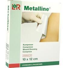 METALLINE Kompressen 10x12 cm steril 10 St