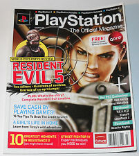 Playstation The Official Magazine Issue 017 March 2009 Resident Evil 5