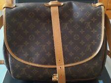Louis Vuitton originale autentica grande saumur monogram