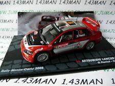 RIT53 voiture 1/43 IXO Altaya : MITSUBISHI Lancer WRC Panizzi Monte Carlo 2005