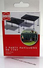 Busch 7797 Bausatz: Party Pavillions 2 x Stück