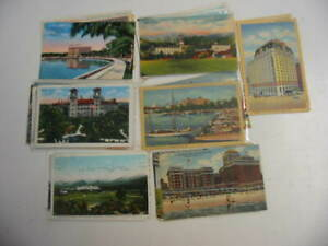 50 Older Hotel and Motel Postcard Lot