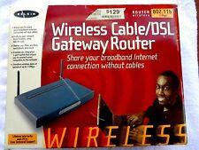 Belkin F5D6230-3 11 Mbps 3-Port 10/100 Wireless B Router- NEW