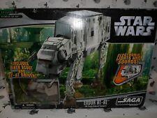 Star Wars Saga Endor AT-AT Walker Boxed Electronic Hasbro VERY GOOD CONDITION