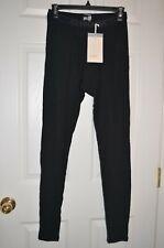 Men's ICEBREAKER Merino 175 Base Layer Bottoms BLACK 100% Wool Pants L