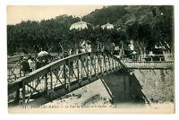 CPA 07 Ardèche Vals-les-Bains Le Pont du Casino et le Casino animé