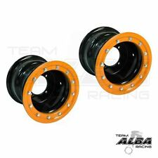 LTR 450 LTZ 400  Rear Wheels  Beadlock  9x8  3+5  4/110 Alba Racing B/O