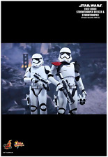 STAR WARS HOT TOYS FIRST ORDER STORMTROOPER & OFFICER 1:6 SCALE FIGURE HOTMMS335