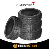 (4) New Kumho KU25 Ecsta AST 225/50/15 91H High Performance All-Season Tire