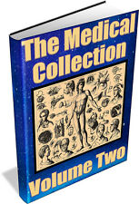 MEDICAL COLLECTION Vol 2 ~ Vintage books on DVD- Medicines,Microscopy,Obstetrics