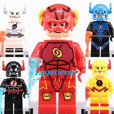 5pcs SET The Flash Super Hero DC Universe mini figures Custom Lego MiniFigure