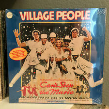 """VILLAGE PEOPLE - Can't Stop The Music - 12"""" Vinyl Record LP - SEALED"""