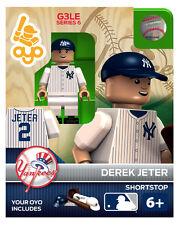 Derek Jeter MLB New York Yankees Oyo Mini Figure NEW G3