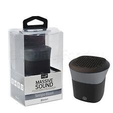 Genuine iFrogz tempo Blast Wireless Bluetooth mp3 mp4 Mini Altoparlante Microfono sua utilità