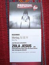 ZOLA  JESUS Large Flyer