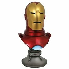 FREESHIP Legends in 3D Comic Marvel Iron Man 1:2 Scale Resin Bust Diamond Select