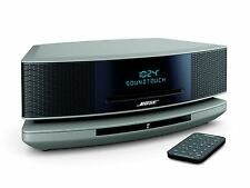 Bose Wave SoundTouch Music System IV Remote, CD Player and Radio-Platinum Silver