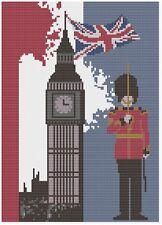 Londra Big Ben Kit Punto Croce da Florashell