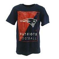 New England Patriots Official NFL Team Apparel Youth Kids Size T-Shirt New Tags