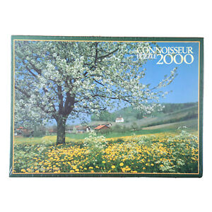 Blossom Time Connoisseur Jigsaw Puzzle 2000 Spring Countryside Tree Farm Pasture
