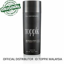 Toppik Hair Building Fiber 55G BLACK (OFFICIAL DISTRIBUTOR MALAYSIA)
